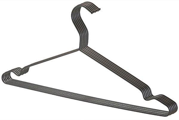 Cabide Tintureiro Black Com Cava - 39,8 x 18,8 cm