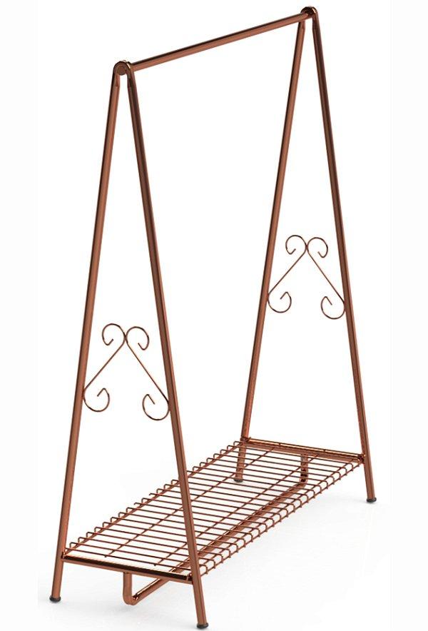 Arara Cavalete Retro Desmontável  - 120 x 170 x 50 cm