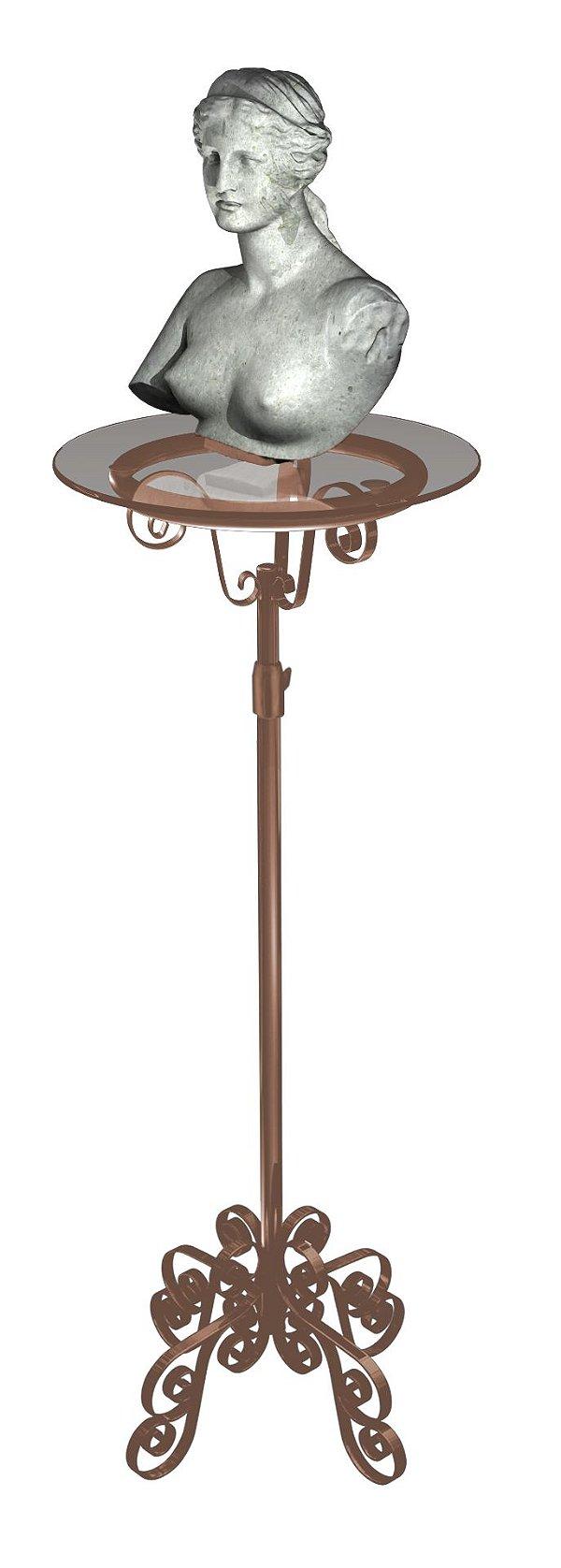 Mesa Bistrô Vintage Rose - 84 x 93 até 156 x 52 cm