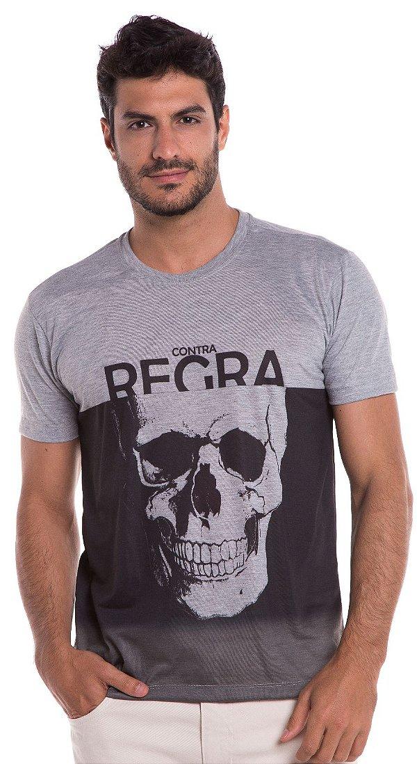 Camiseta Street - Caveira - REF: 1201