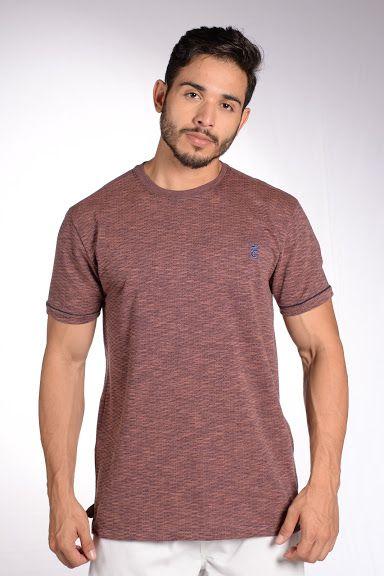 Camiseta Tradicional Jarcquard - Ref 1340