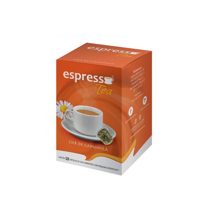 Chá Espresso Blend Camomila - 10 Cápsulas (Nespresso)