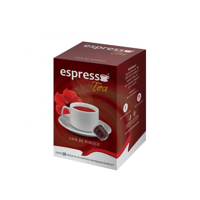 Chá Espresso Blend Hibisco - 10 Cápsulas (Nespresso)