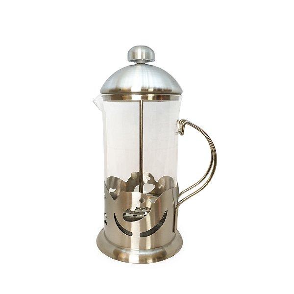 Cafeteira Francesa Coffee Plunger (600ml) - Silver Line