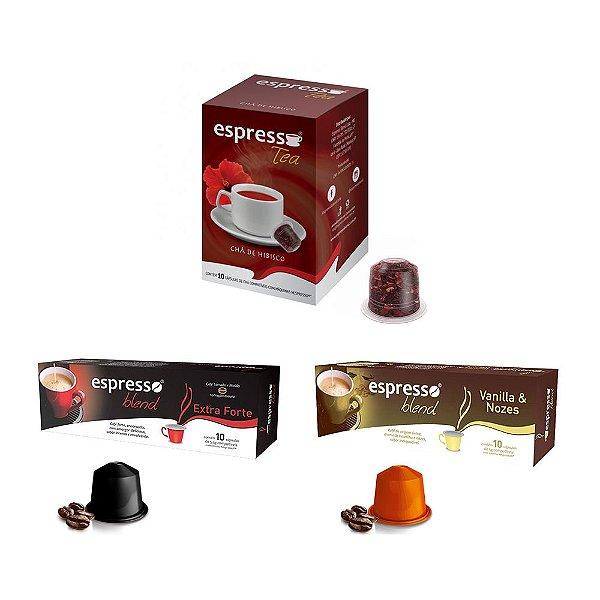 Combo Espresso Blend - 30 Cápsulas (Nespresso) Mod. 1