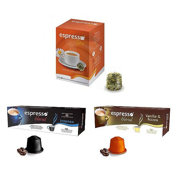 Combo Espresso Blend - 30 Cápsulas (Nespresso) Mod. 2