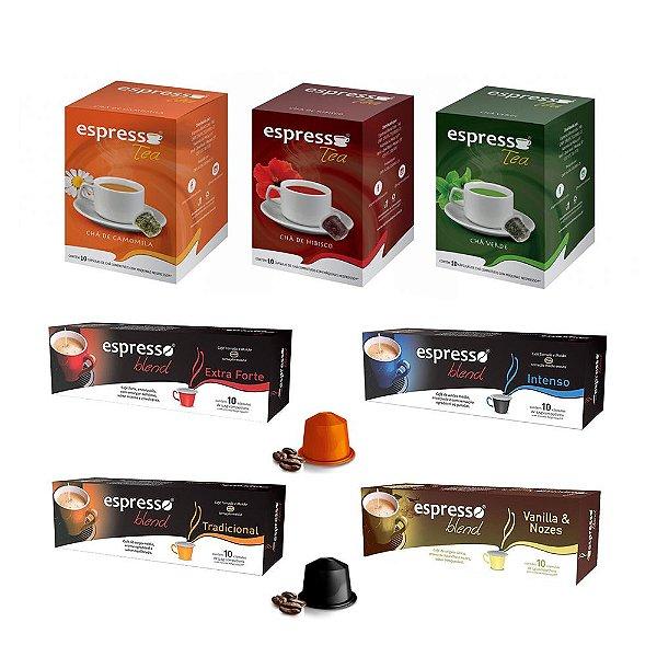 Seleção Empresa Espresso Blend - 70 Cápsulas (Nespresso)