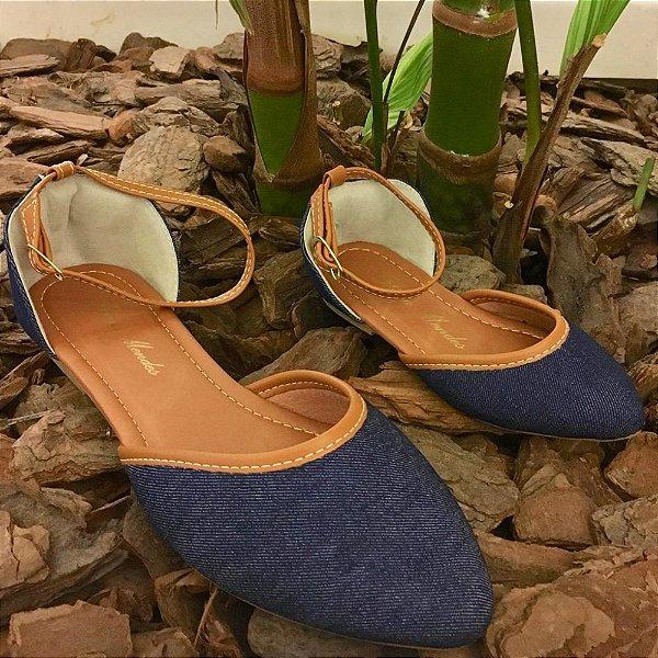 Salomé Jeans Azul Bico Fino