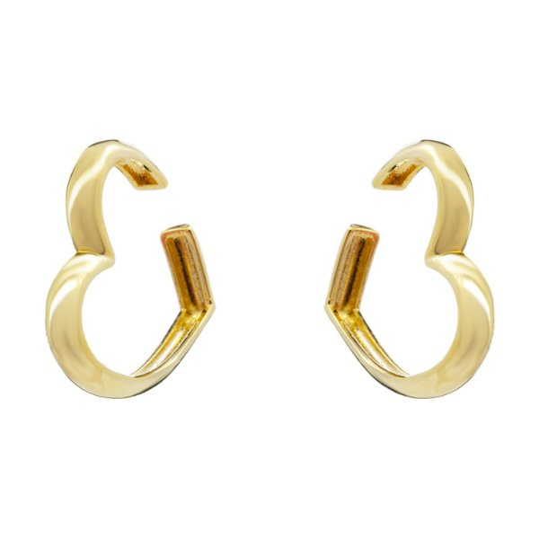 Brinco Ear Hook Heart