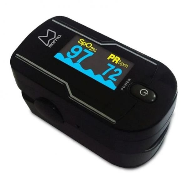 Oximetro de Dedo ChoiceMMed Monitor SpO2 e Batimentos Cardíacos