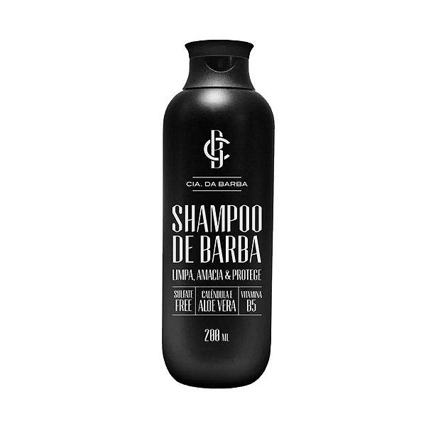 Shampoo de Barba Cia. da Barba - 200mL