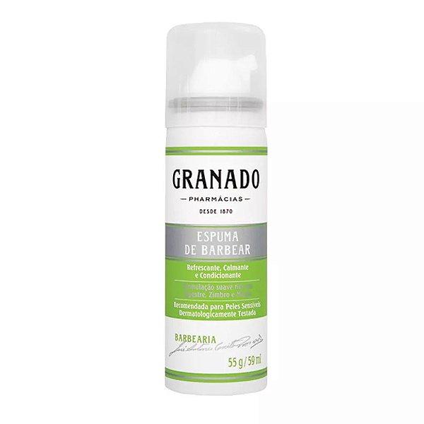 Espuma de Barbear Resfrescante Granado - 59ml