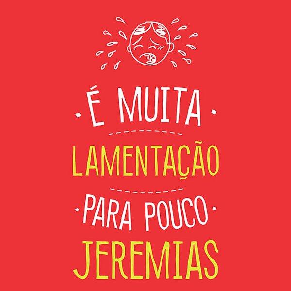 CAMISETA - JEREMIAS