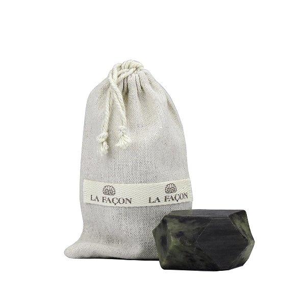 Sabonete Quartzo - 95g - Negro/Verde