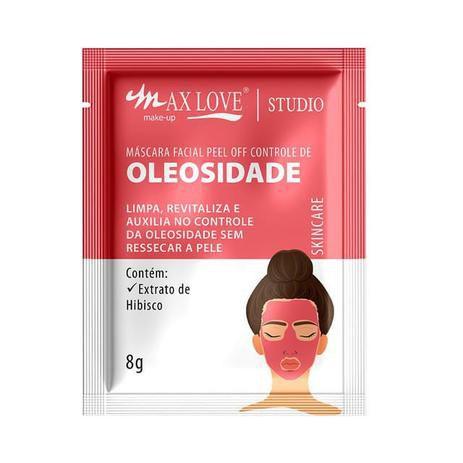 MÁSCARA FACIAL PEEL OFF CONTROLE DE OLEOSIDADE / MAX LOVE