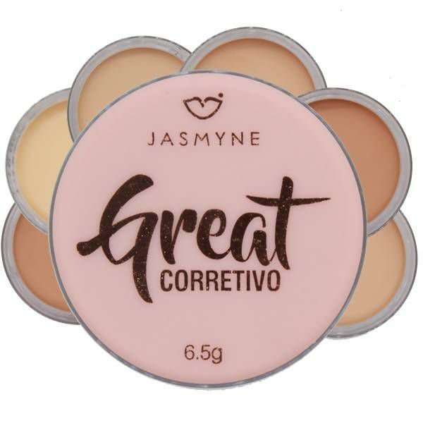 CORRETIVO GREAT - COR 01 / JASMYNE