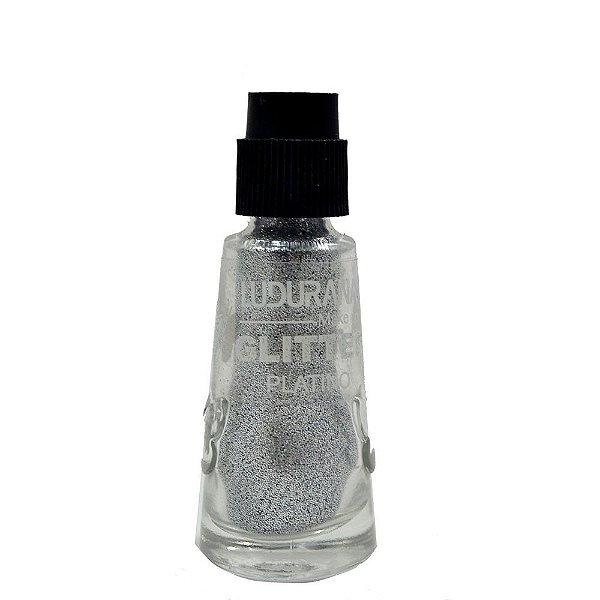GLITTER - COR PLATINO / LUDURANA