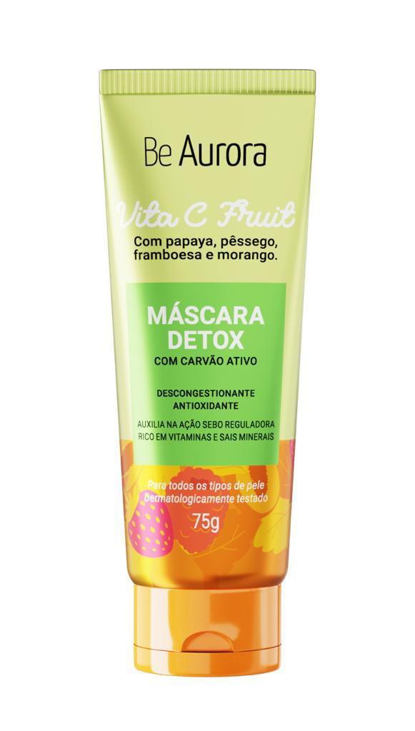 MÁSCARA FACIAL DETOX - VITA C FRUIT / BE AURORA