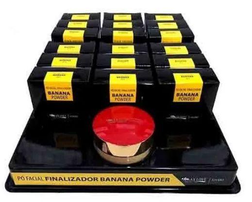 Pó Facial Finalizador Banana Powder Max Love