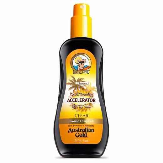 Acelerador de Bronzeado Spray Australian Gold Dark Tanning