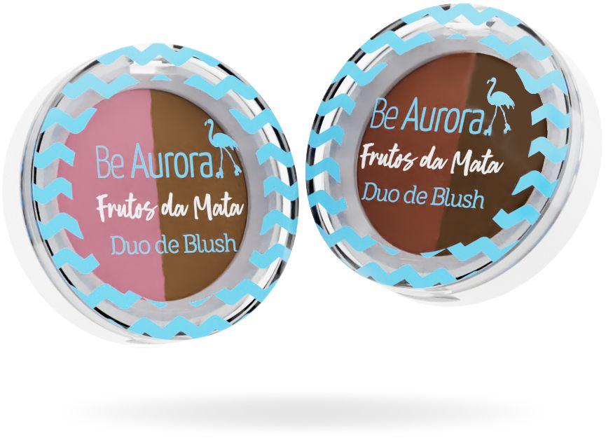 DUO DE BLUSH - FRUTOS DA MATA / BE AURORA