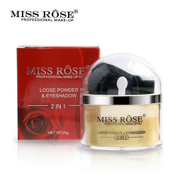 LOOSE POWDER & EYESHADOW / MISS ROSÊ