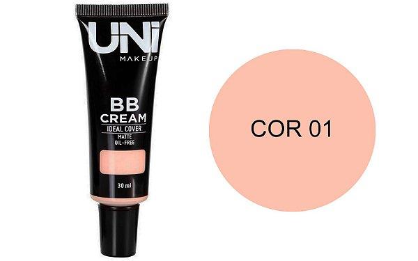 BB CREAM OIL FREE 30ML COR 01 -UNI MAKEUP