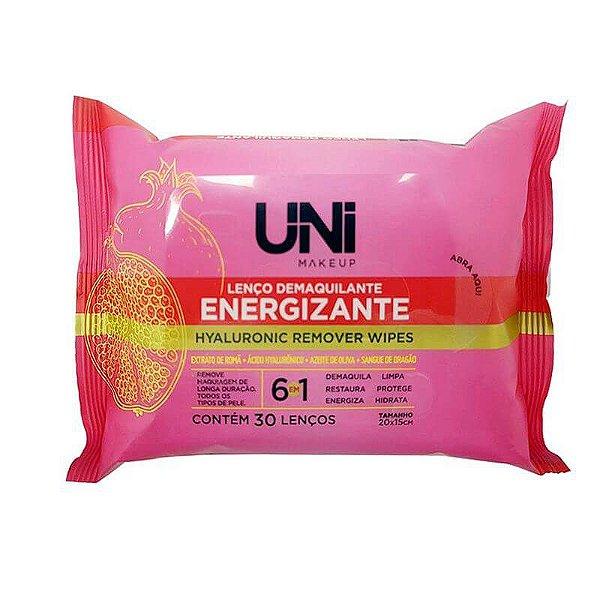 LENÇO DEMAQUILANTE ENERGIZANTE / UNI