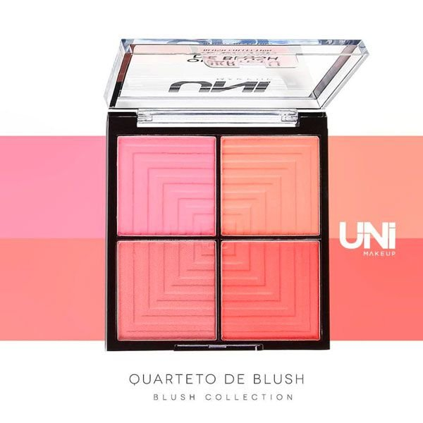 QUARTETO DE BLUSH / UNI MAKEUP