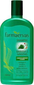 SHAMPOO CABELOS ONORMAIS A SECOS / FARMAERVAS