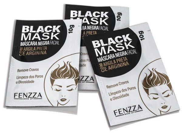 BLACK MASK MÁSCARA NEGRA FACIAL / FENZZA