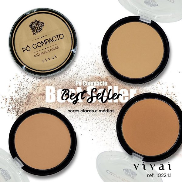 PÓ COMPACTO BEST SELLER / VIVAI