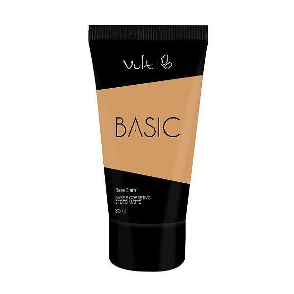BASE E CORRETIVO EFEITO MATTE - BASIC COR 11 / VULT