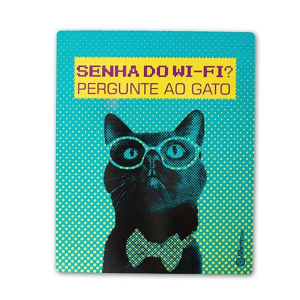 Placa Decorativa - Senha do Wifi