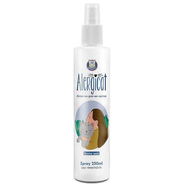 Alergicat - Banho seco que previne a alergia aos pelos de gato