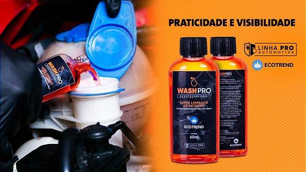 WASHPRO - SUPER LIMPADOR DE PARA-BRISA COM NANOTECNOLOGIA AMERICANA