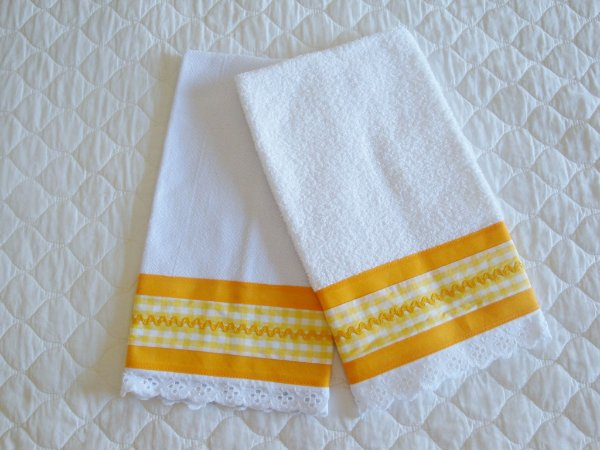 80dfd51ed Pano de prato + toalha de mão - Artesane Artesanato