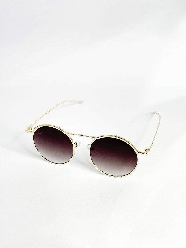 Óculos de sol Perla Prado ref: Emili Cor: Fumê