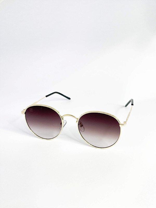 Óculos de sol Perla Prado ref: Irlanda Cor: Fumê