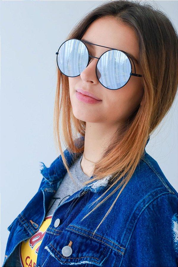Óculos de Sol Perla Prado - ref: Francis Espelhado