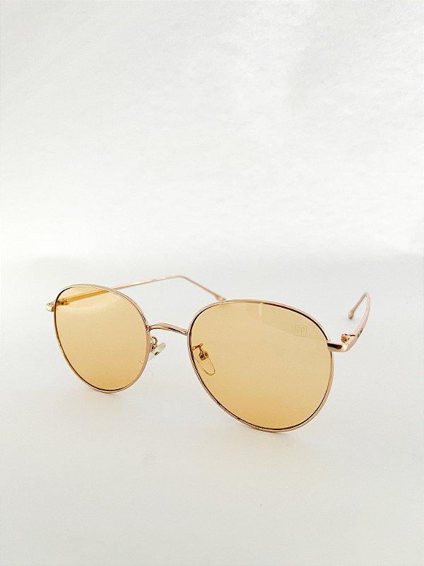 Óculos de sol Perla Prado ref: Veneza Yellow