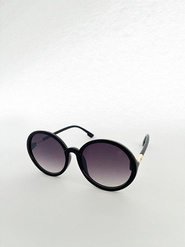 Óculos de Sol Perla Prado - ref: Florenza Circ Black