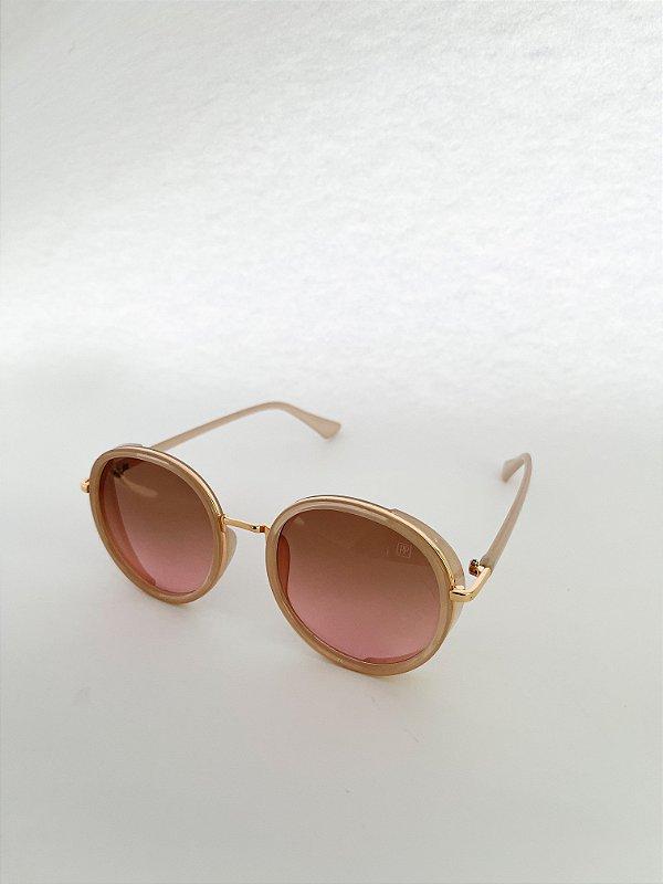 Óculos de Sol Perla Prado - ref: França Marfim