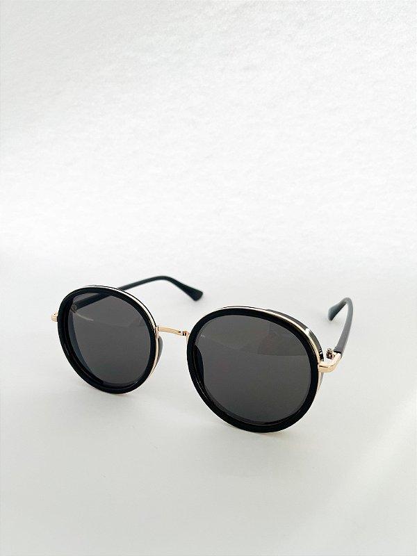 Óculos de Sol Perla Prado - ref: França Black