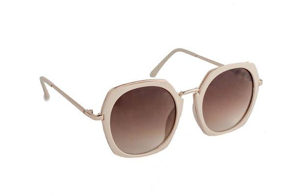 Óculos de sol Perla Prado ref: Óculos Angra Bege