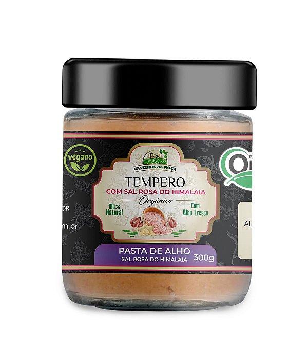 Tempero Orgânico - PASTA de ALHO - 300g