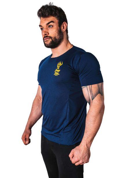 Camiseta Manga Curta Iron Azul Marinho