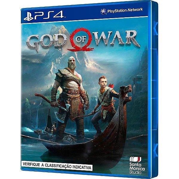 Jogo God Of War PS4 em Português