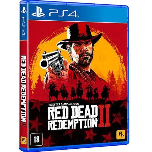Jogo Ps4 - Red Dead Redemption II