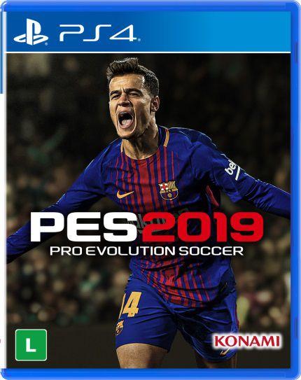 Jogo Ps4 - Pes 2019 Pro Evolution Soccer - Konami